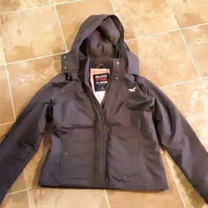 Hollister All-Weather Womens Jacket Charcoal